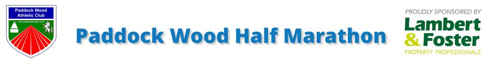 The Paddock Wood Half Marathon